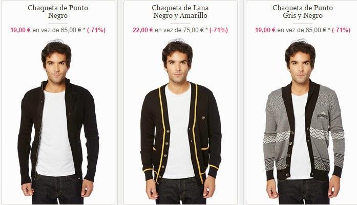 Ejemplos de chaquetas disponibles en esta oferta
