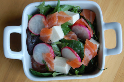 Fiona's Japanese Cooking: QUICK JAPANESE RECIPE: SMOKED SALMON AND ...