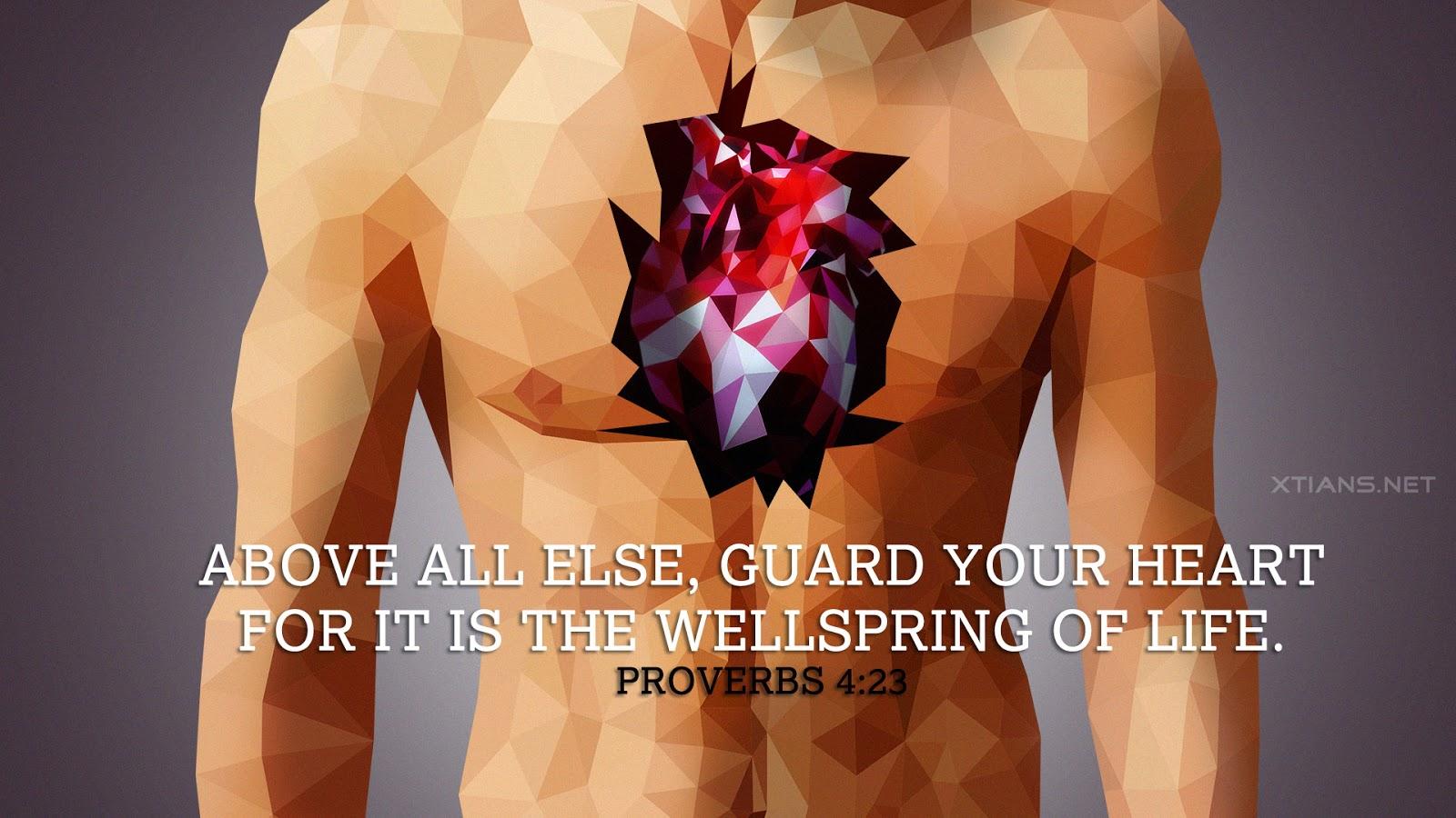 Wallpaper - Guard your heart