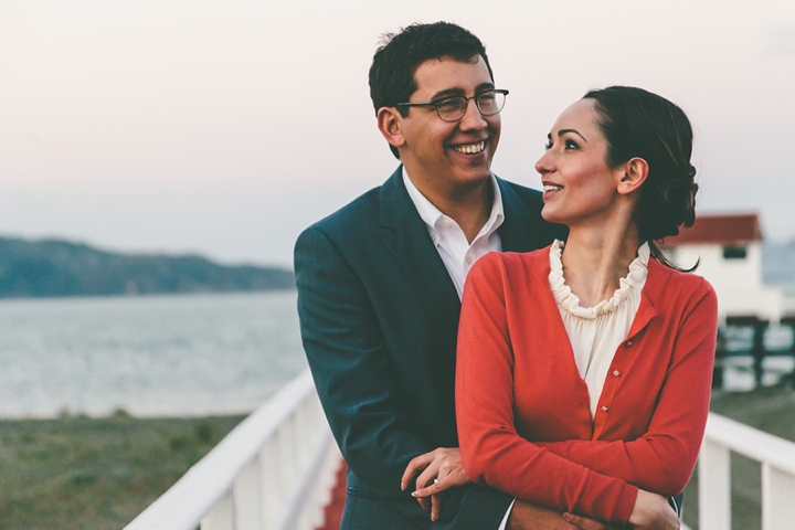 San Francisco Crissy Field Engagement  | Stephanie Court Photography
