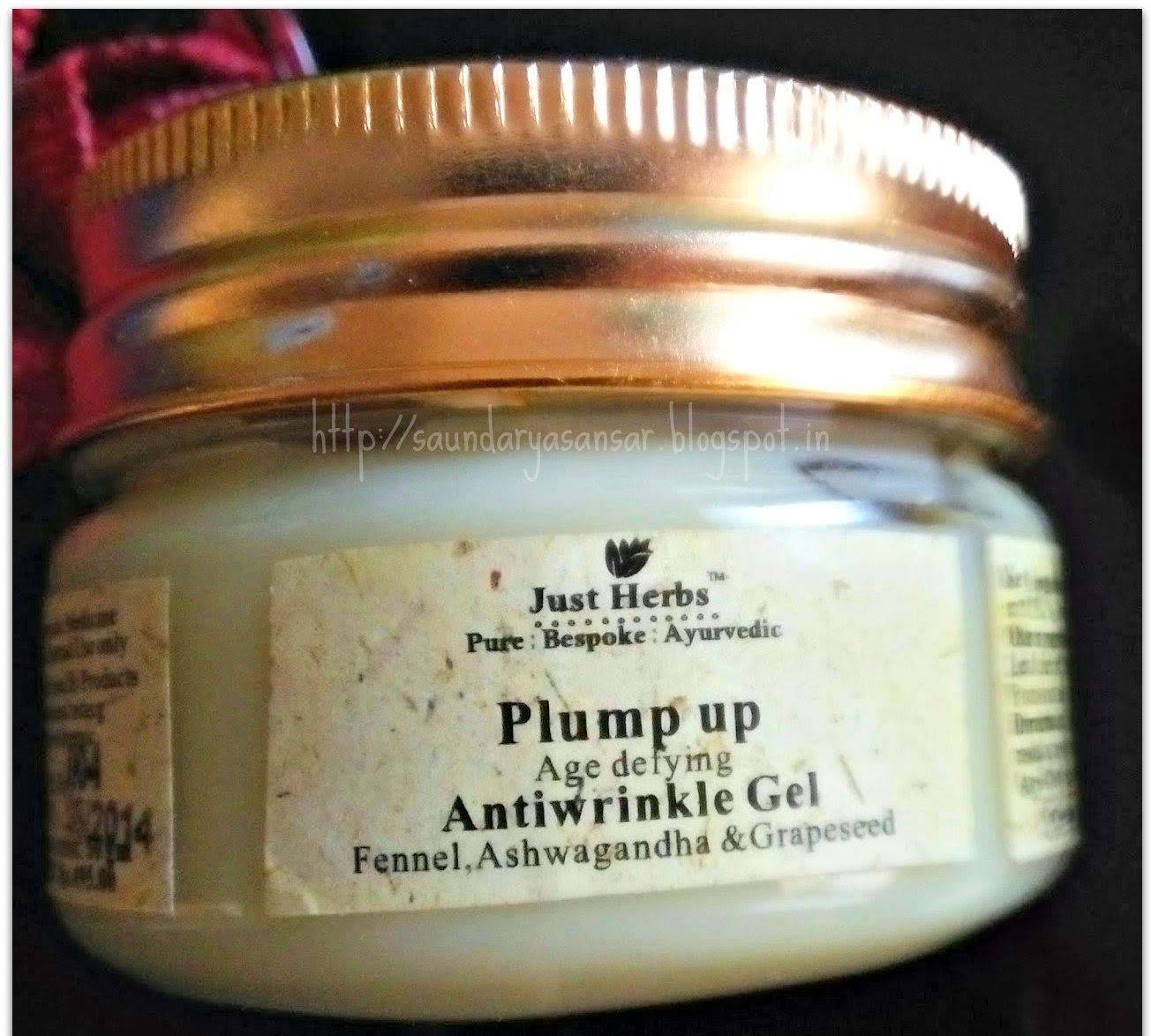 Plump Up Age Defying Gel from Just Herbs:Review