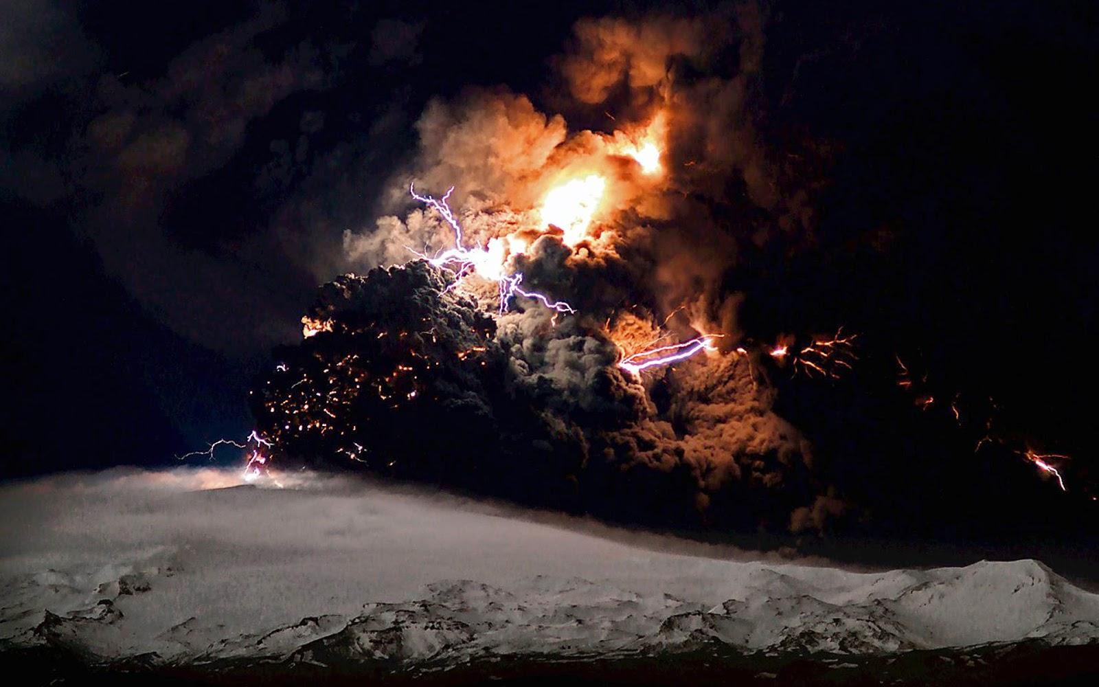 Eruption Eyjafjallajökull Volcano
