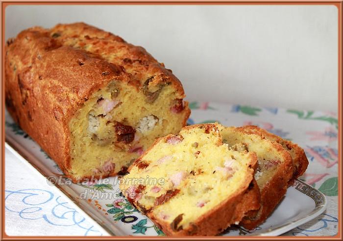Cake Au Des De Jambon Et Tomates Sechees Au Thermomix