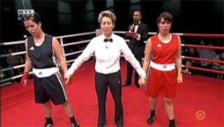 Eszter és Vera a ringben