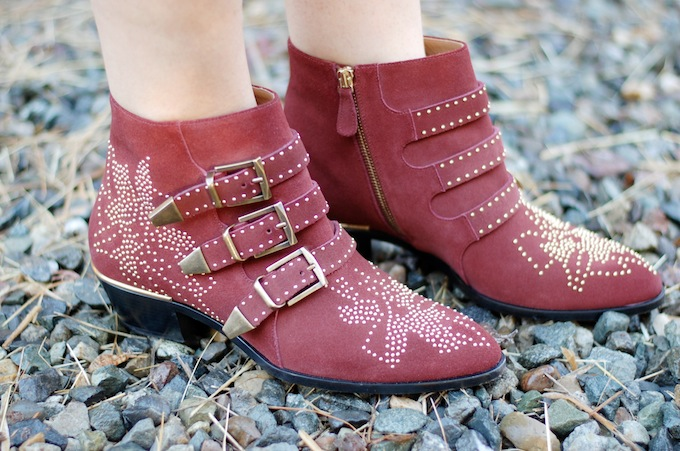 Chloe Susanna boots Covet and Acquire Vancouver fashion blogger