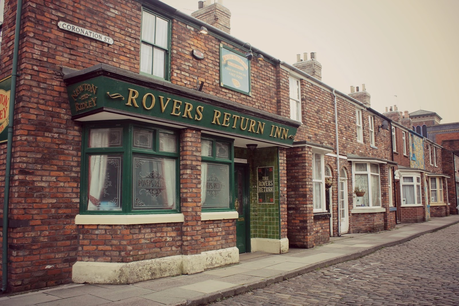 day out to coronation st studio
