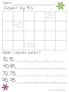 http://www.teacherspayteachers.com/Product/Skipping-Through-Winter-Skip-Counting-By-2s-5s-and-10s-433455