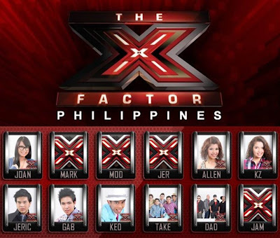 The X Factor Philippines Top 8 (final 8) performances on September 1