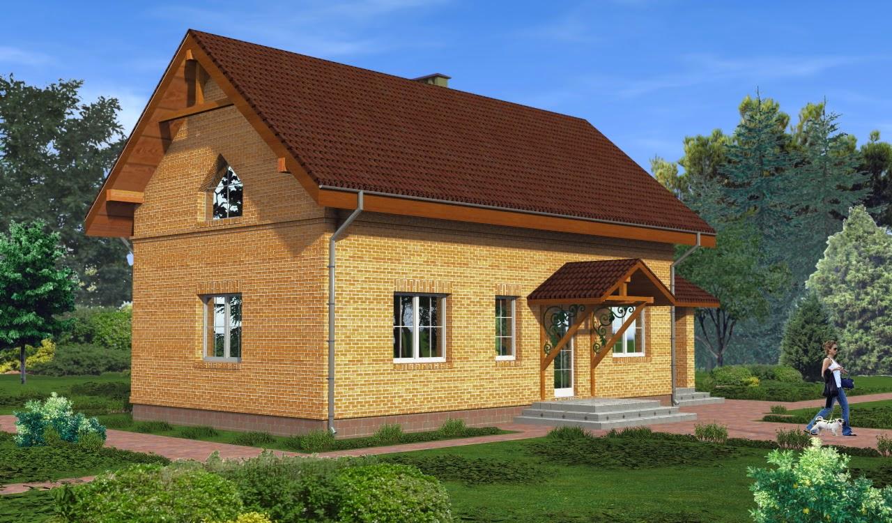 Узкий дом