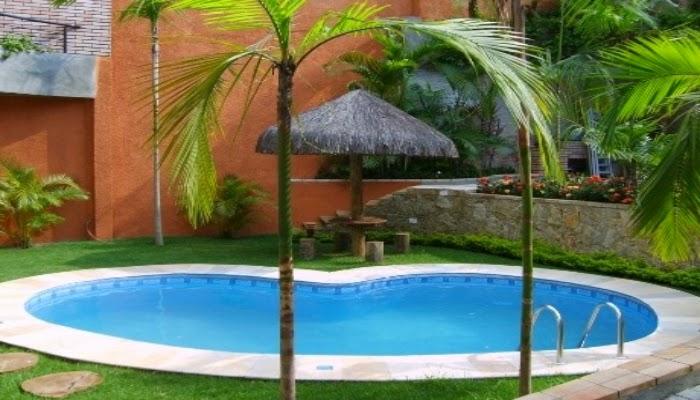 Piscinas pequenas para sua rea de lazer ponto das piscinas - Piscina prefabricada pequena ...