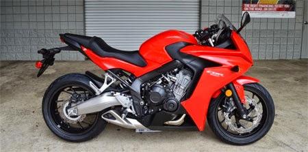 gambar Honda CBR650F