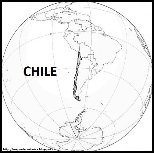 CHILE America  MAPAS DE