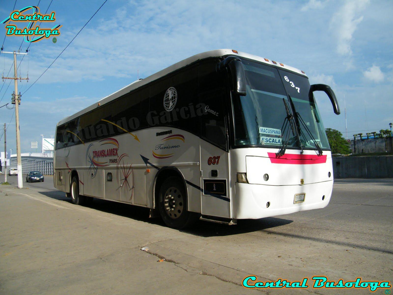 Linea: Translamex Tours Al Servicio Soc.Coop De Transportes macuspana.