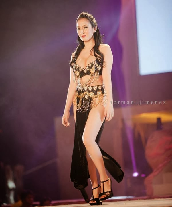 paulene so naked pic at fhm 100 sexiest victory party 2013