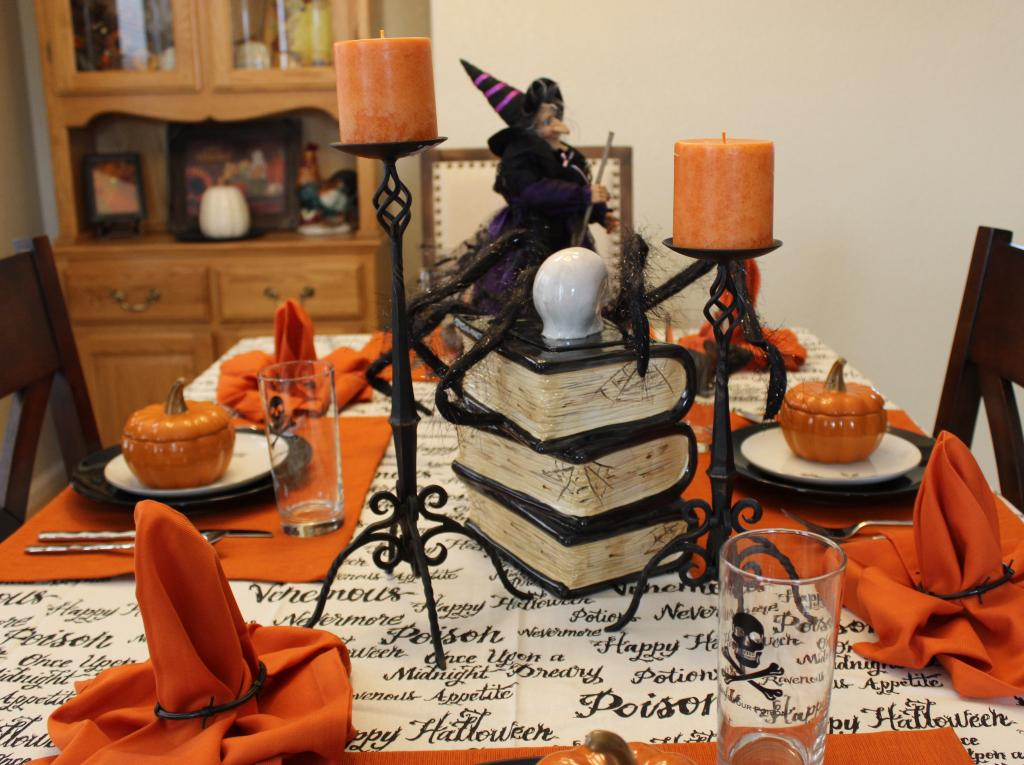 World Market Halloween Tablescape