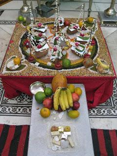 Navpad Siddhachakra Mandal image by Ellen Gough