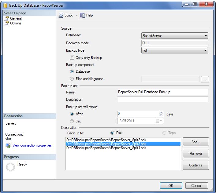 Sql Database Backup File Size