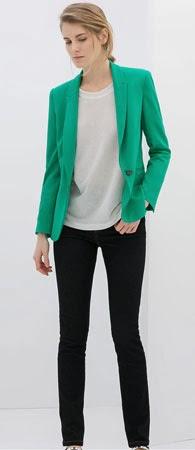 blazer jogging Zara mujer primavera 2014