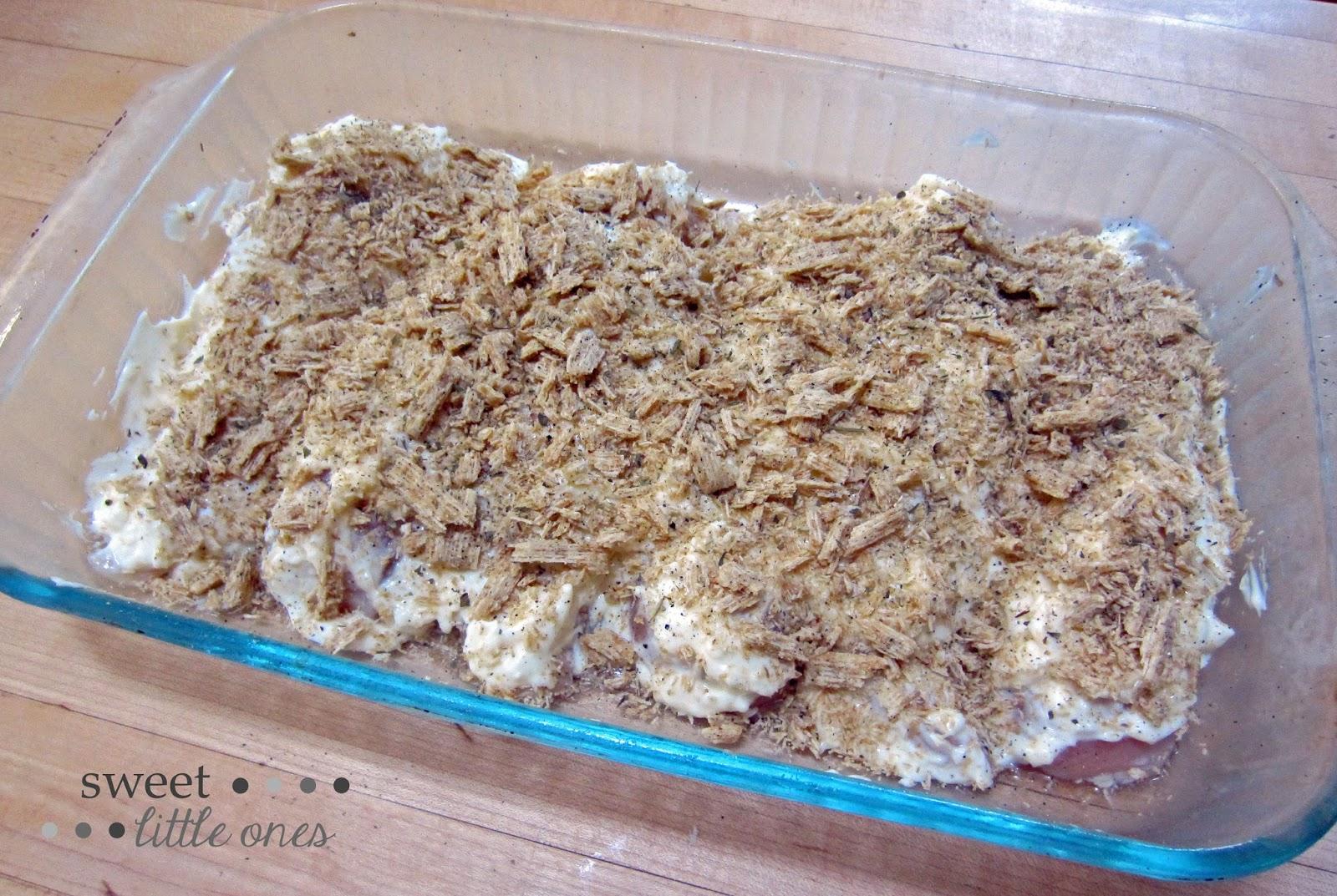 Easy Dinner Recipe - Chicken  www.sweetlittleonesblog.com