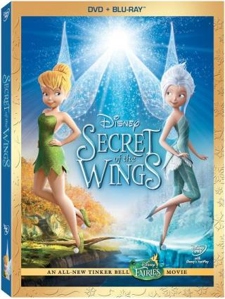 Tinker Bell Secret of the Wings DVDR NTSC Español Latino Menú 2012