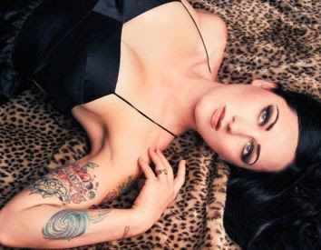 Lilly Deville Sexy Tattoo Designs