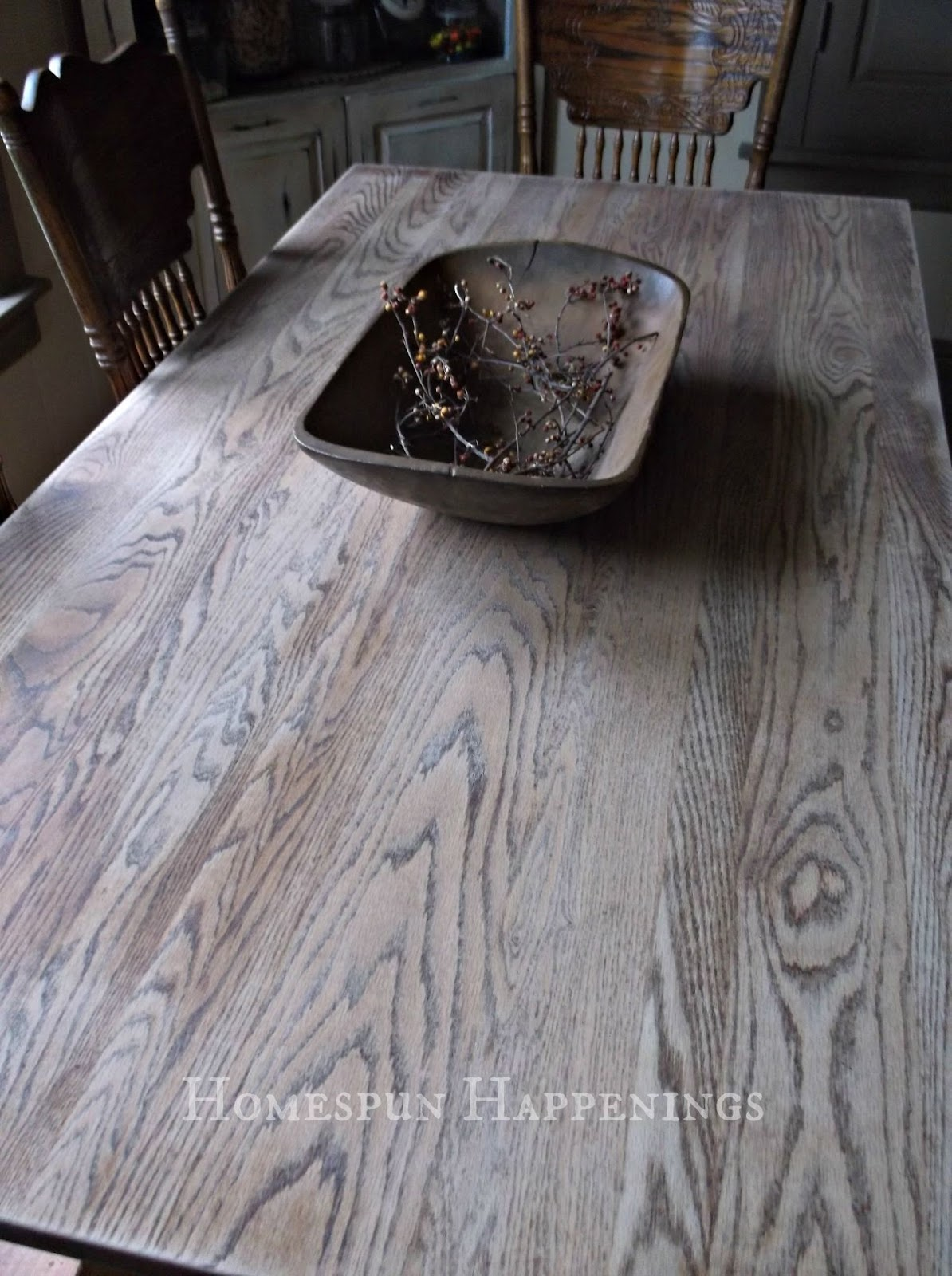 My Kitchen Table Redo