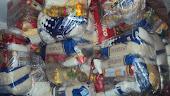 Distribuição de cestas aos pacientes em novembro