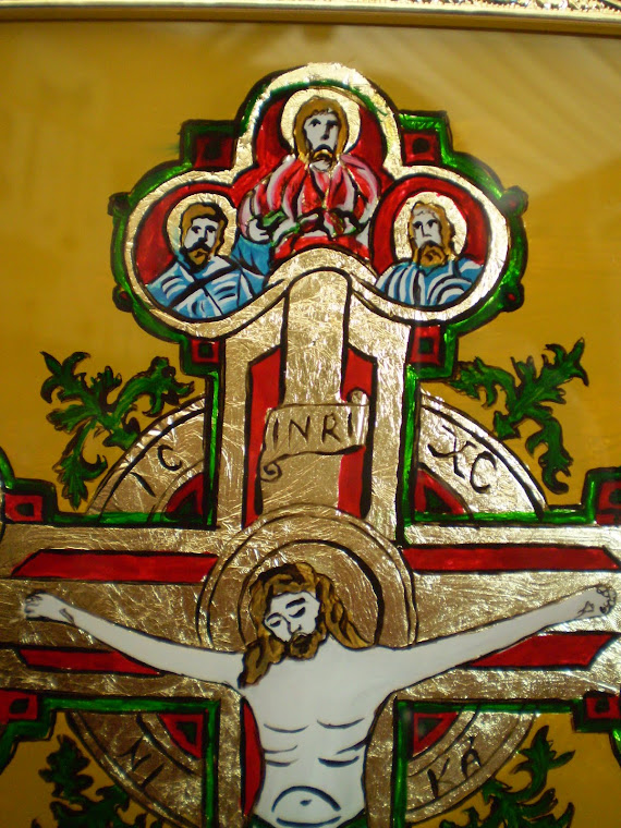 icon crucifixion, detail11