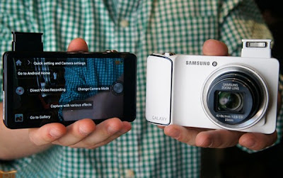 Samsung Galaxy Camera alimentado por Android 4,1 OS