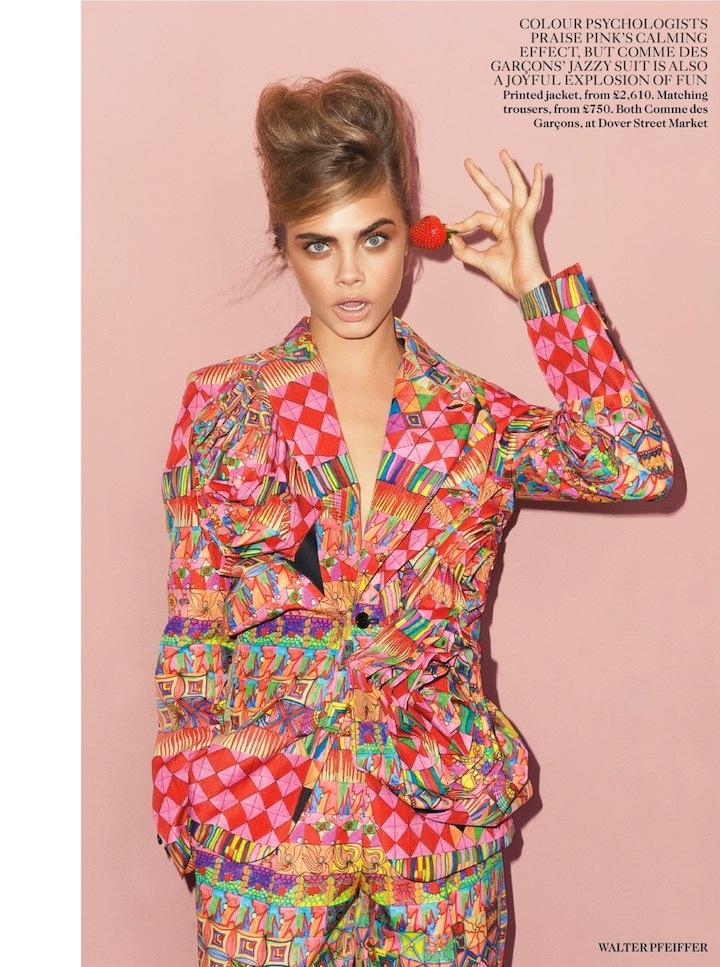 Cara Delevingne By Walter Pfeiffer For Uk Vogue September 2013