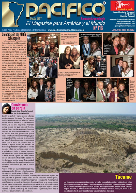 Revista Pacífico Nº 113 Arqueología