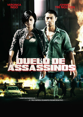 Filme Poster Duelo de Assassinos DVDRip XviD Dual Audio &amp; RMVB Dublado