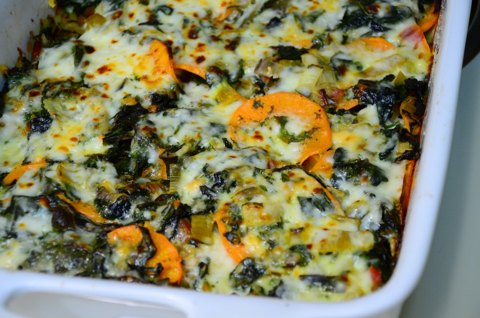 food for scot: Swiss Chard and Sweet Potato Gratin