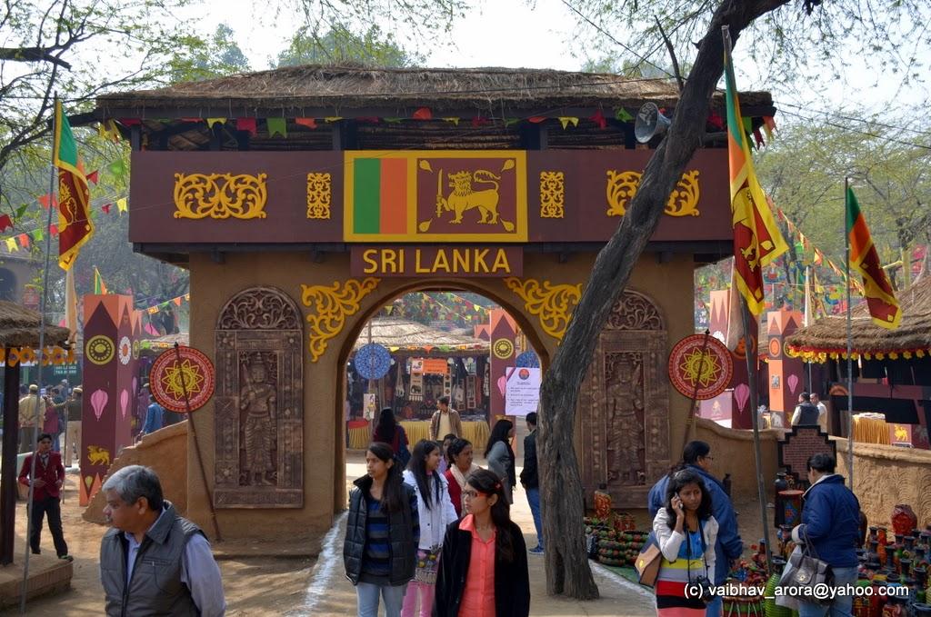 Srilanka Pavilion- Images Courtesy Vaibhav, India Mike
