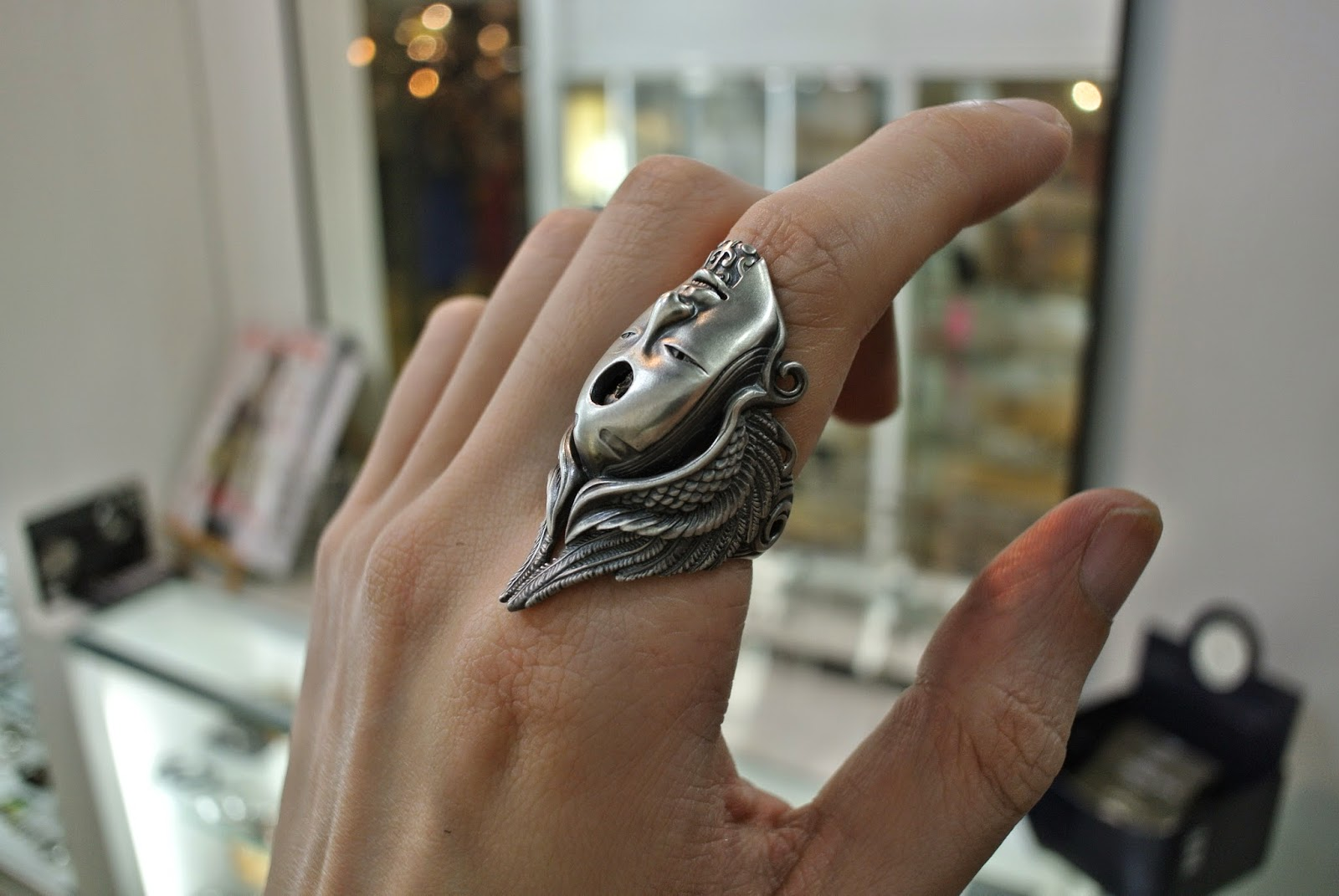 Trepanation Ring by 杉山孝博 dual flow  - Dress Code Limited