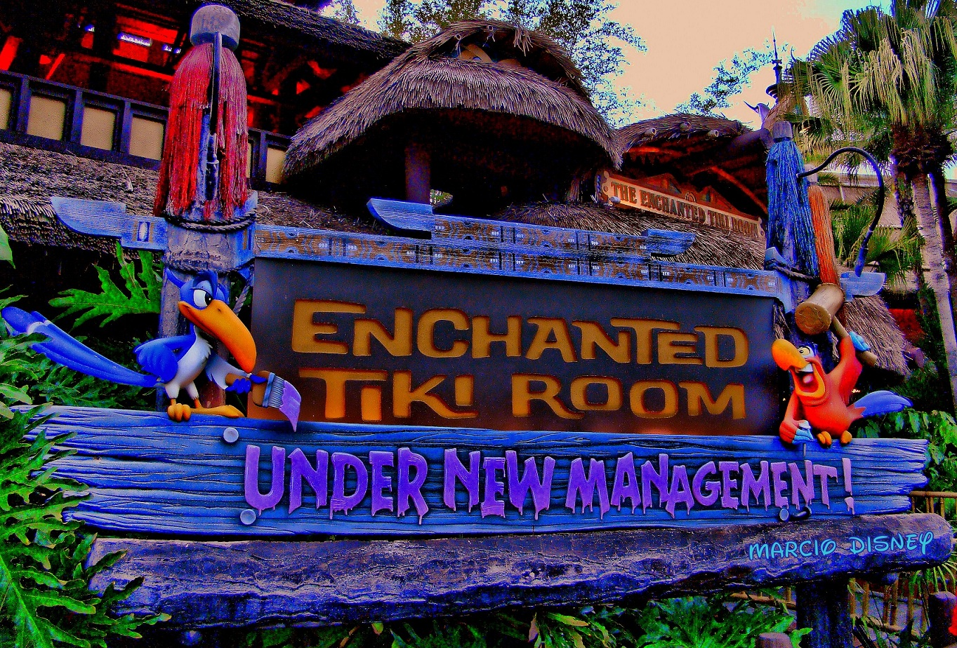 The Walt Disney World Picture of the Day: Enchanted Tiki Room ...