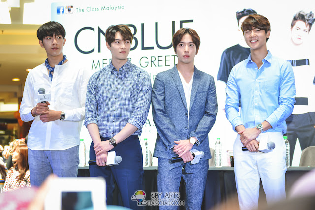 CNBLUE Meet & Greet @ Mid Valley Megamall | The Class Malaysia