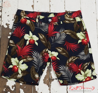 Floral Floyd Shorts from Three Over One.