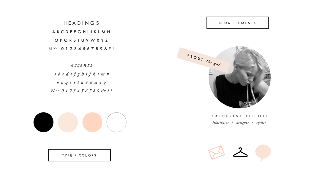 Branding for StyleMachineBlog.com by Rive Gauche Craft
