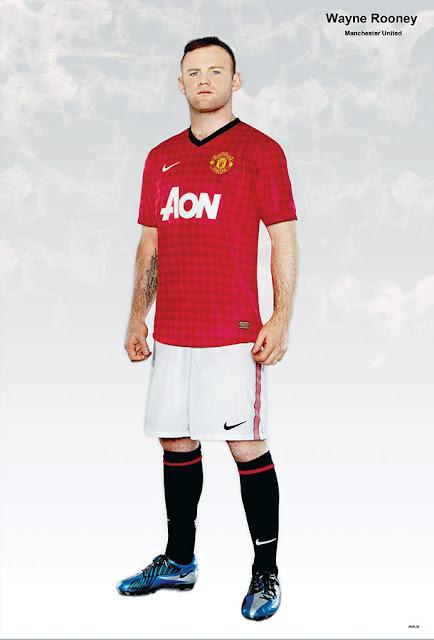 Wayne Rooney Poster- 6828