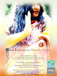 Aux Ulis (91), Cours de Danse Indienne et  de Baratha-jazz au profit des projets de l'idep
