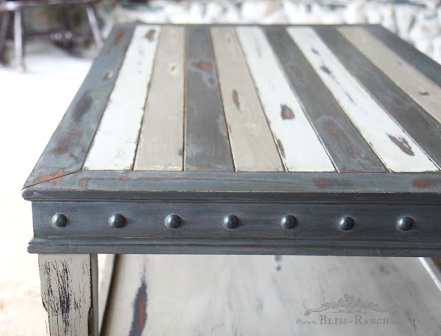 Fusion Mineral Paint Coffee Table Redo, Bliss-Ranch.com