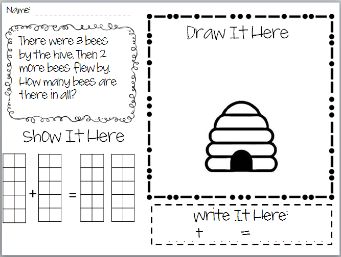 math worksheet : simple addition stories related keywords  suggestions  simple  : Kindergarten Word Problems Worksheets