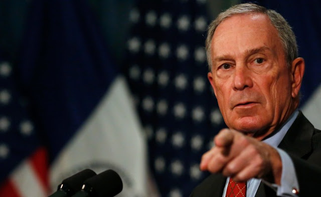 Michael Bloomberg de olhos na campanha presidencial