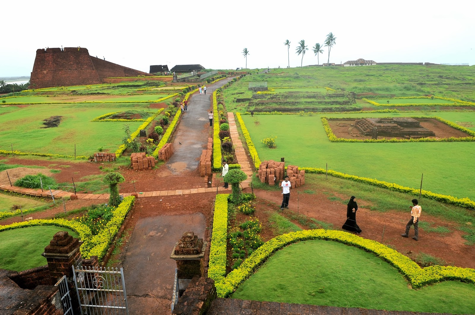 Bekal Fort in Kasaragod