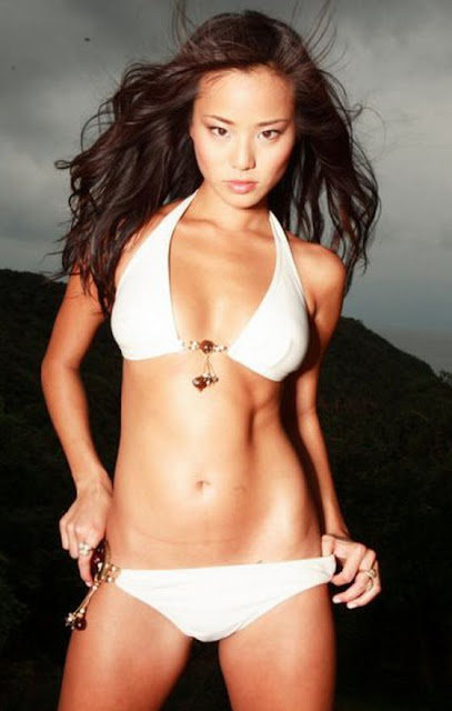 Jamie Chung in Swimsuit