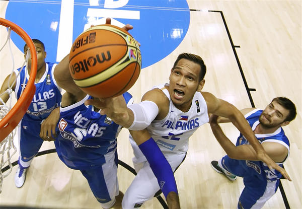 Greece def. Gilas Pilipinas, 82-70 (VIDEO) FIBA World Cup 2014