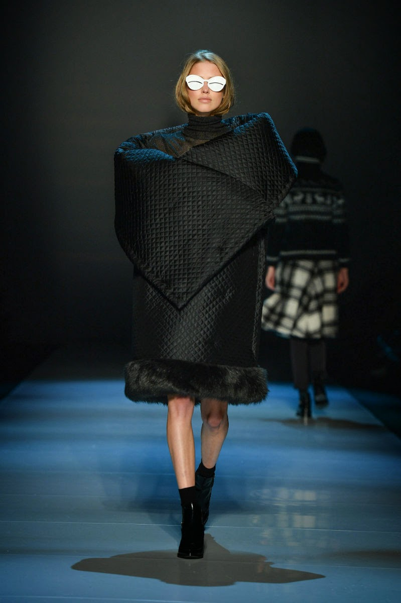 World-MasterCard-Fashion-Week, Toronto, Runway, Pink-Tartan, Fall-Winter-2014