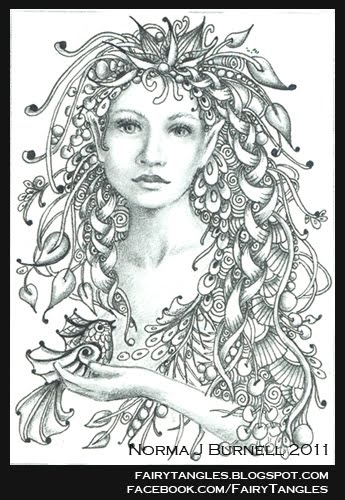 Fairy Tangles Caelia The Woodland Queen