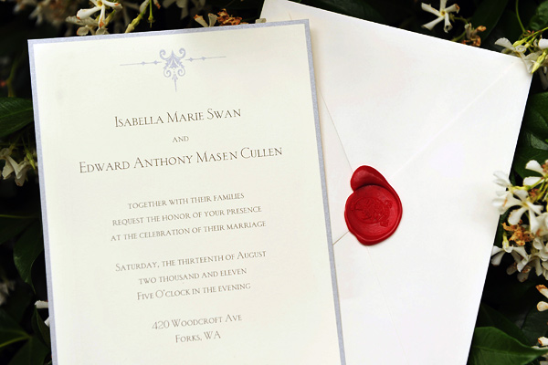 Breaking dawn wedding invitation card revealed teaser leaked its the event the world has been waiting for you are hereby invited to the wedding of isabella marie swan and edward anthony masen cullen stopboris Choice Image